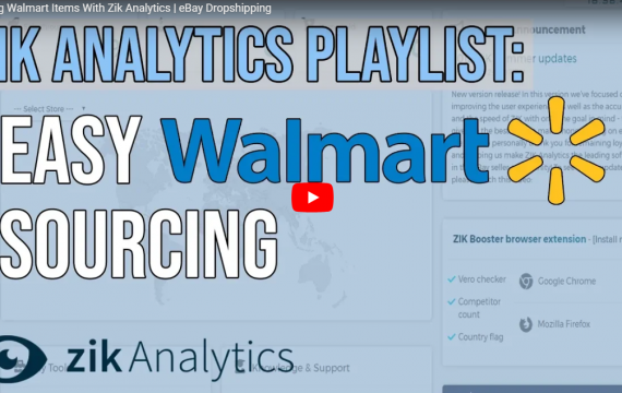 ZiK Analytics Sourcing from Walmart